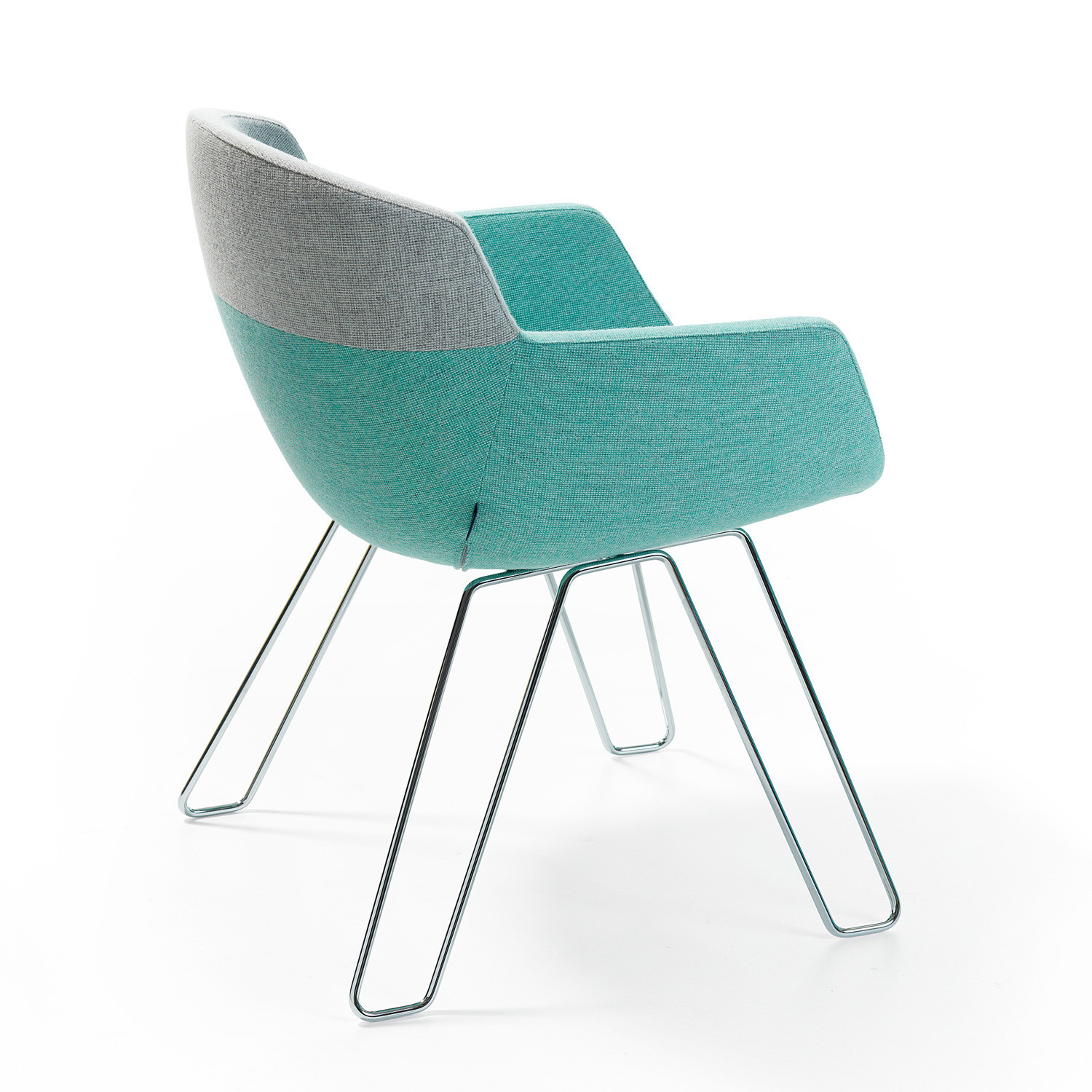 Mood Armchair with wire-frame