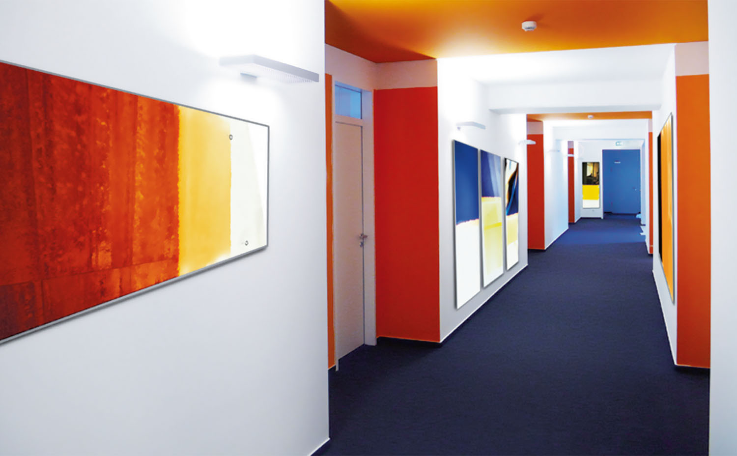 Mooia Acoustic Wall Panel Designs from Sedus