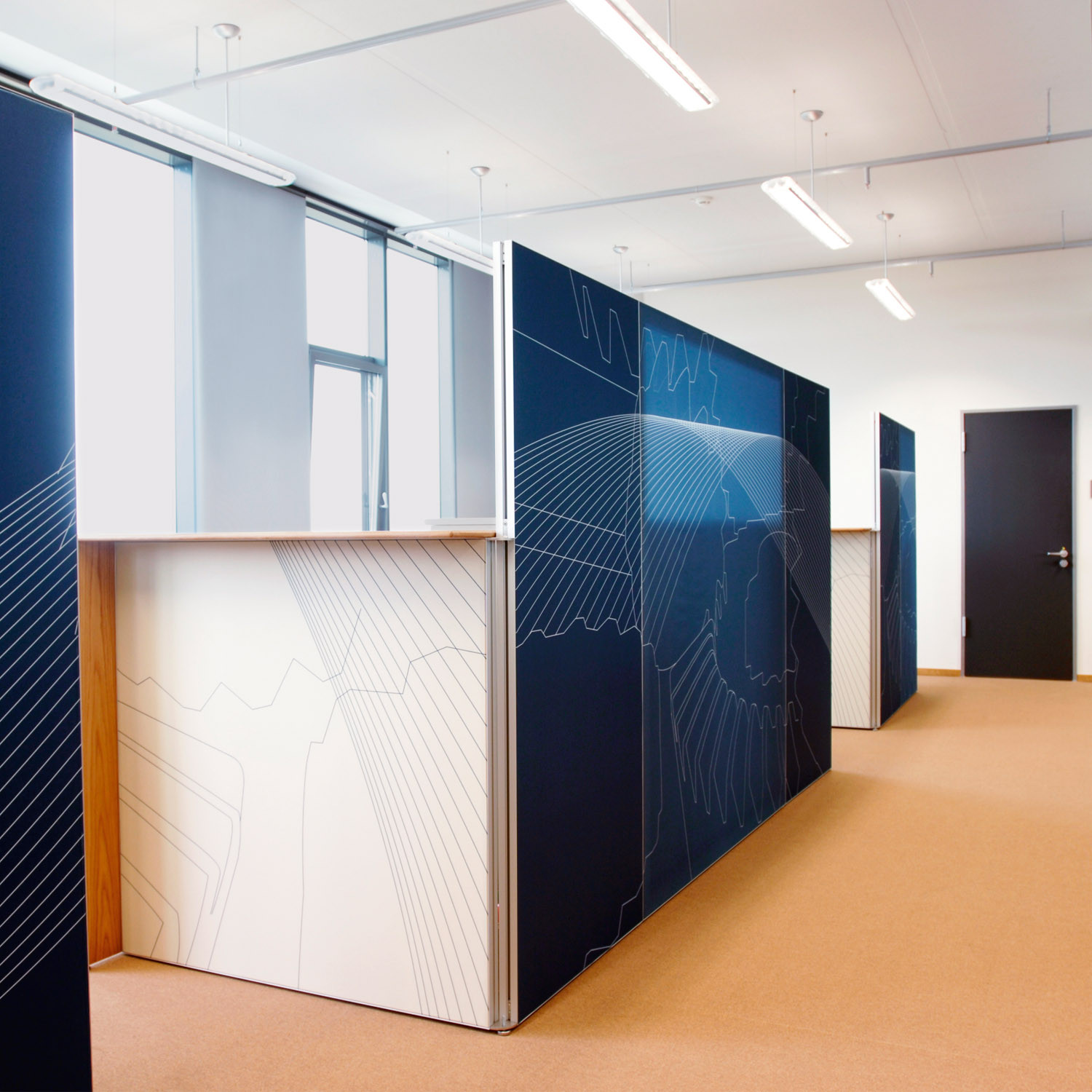 Mooia Acoustic Base Office Dividers