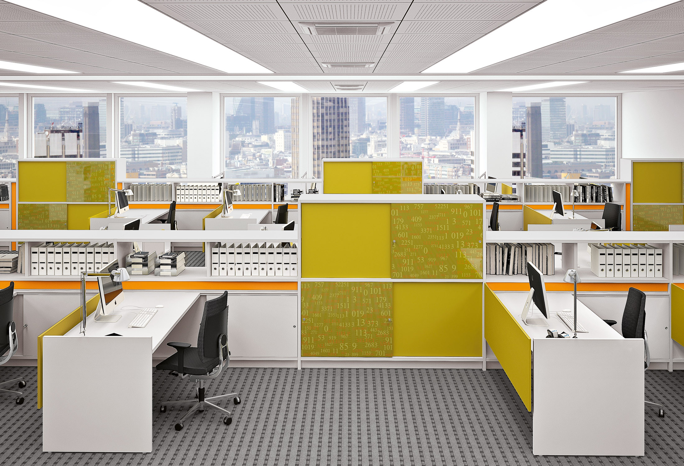 Open Plan Office design from Apres