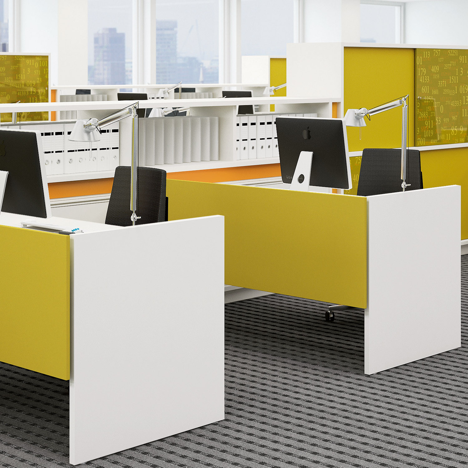 More Desk for Open Plan Offices
