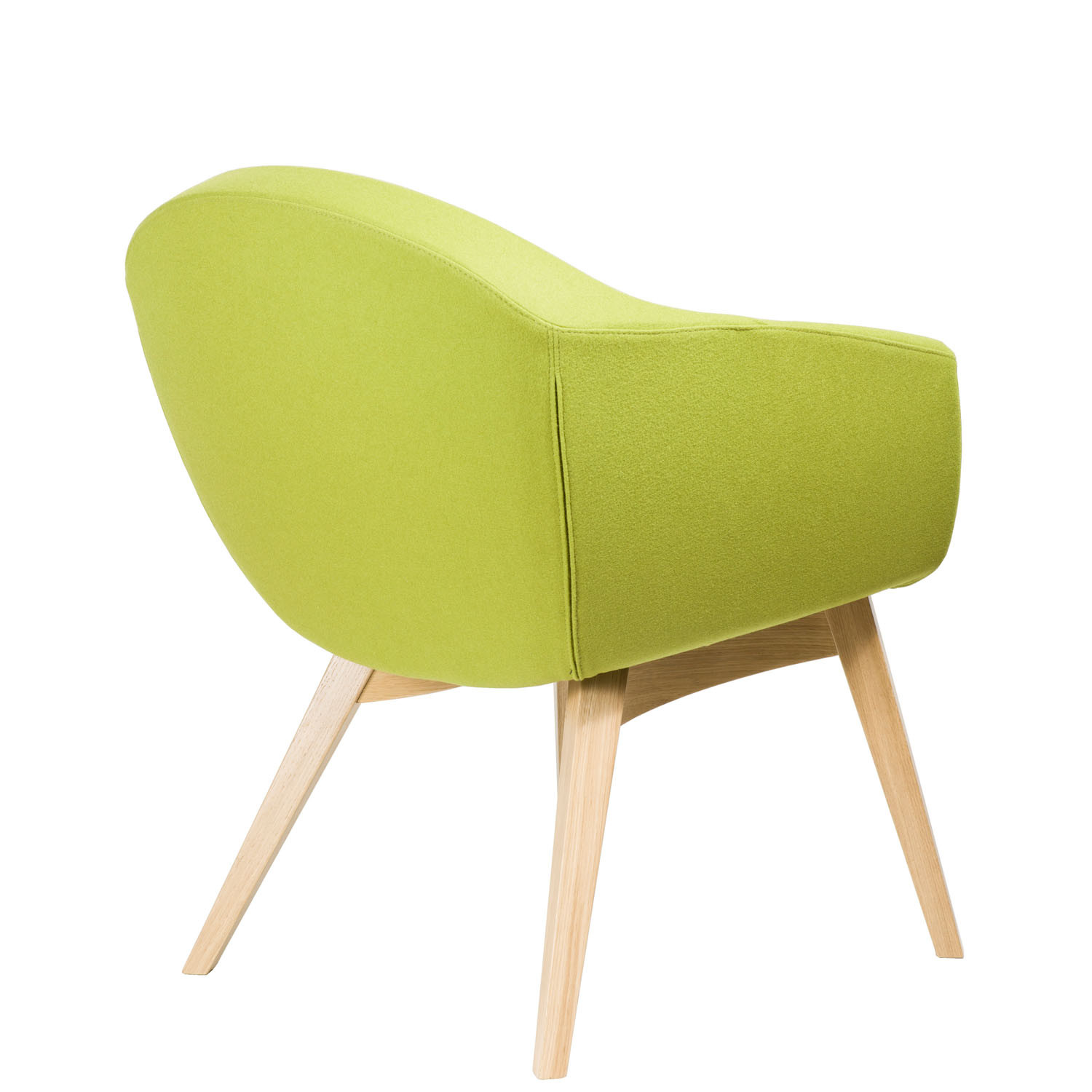 Mortimer Chair with Solid Wooden Legs