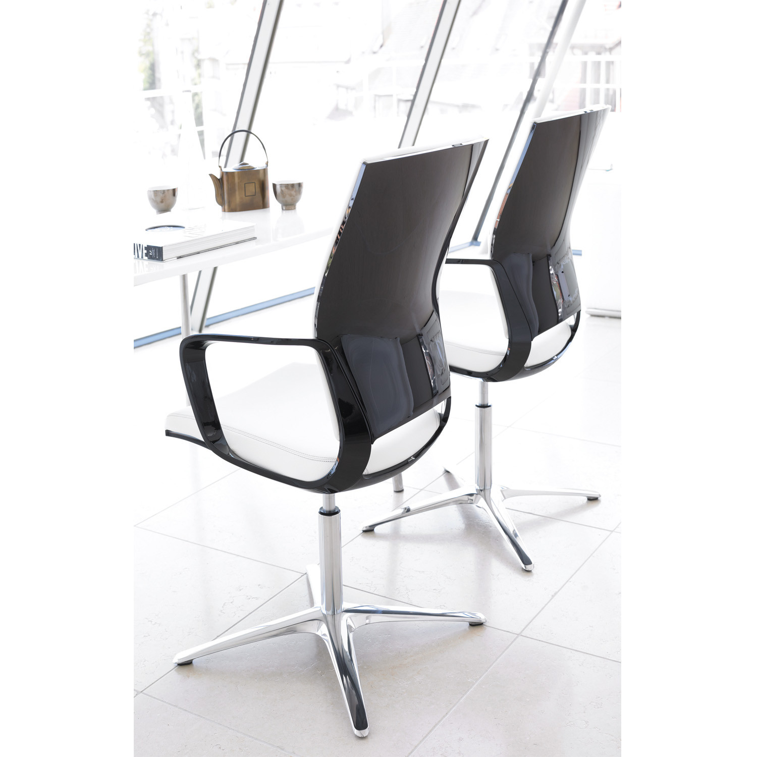 Moteo Visitor Swivel Chairs from Klober