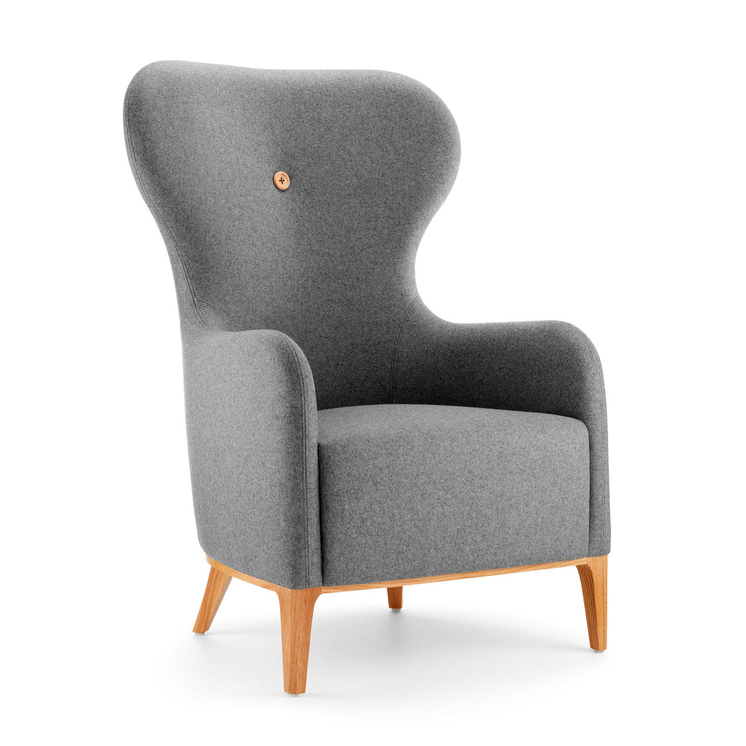 Mr High Back Wing Chair
