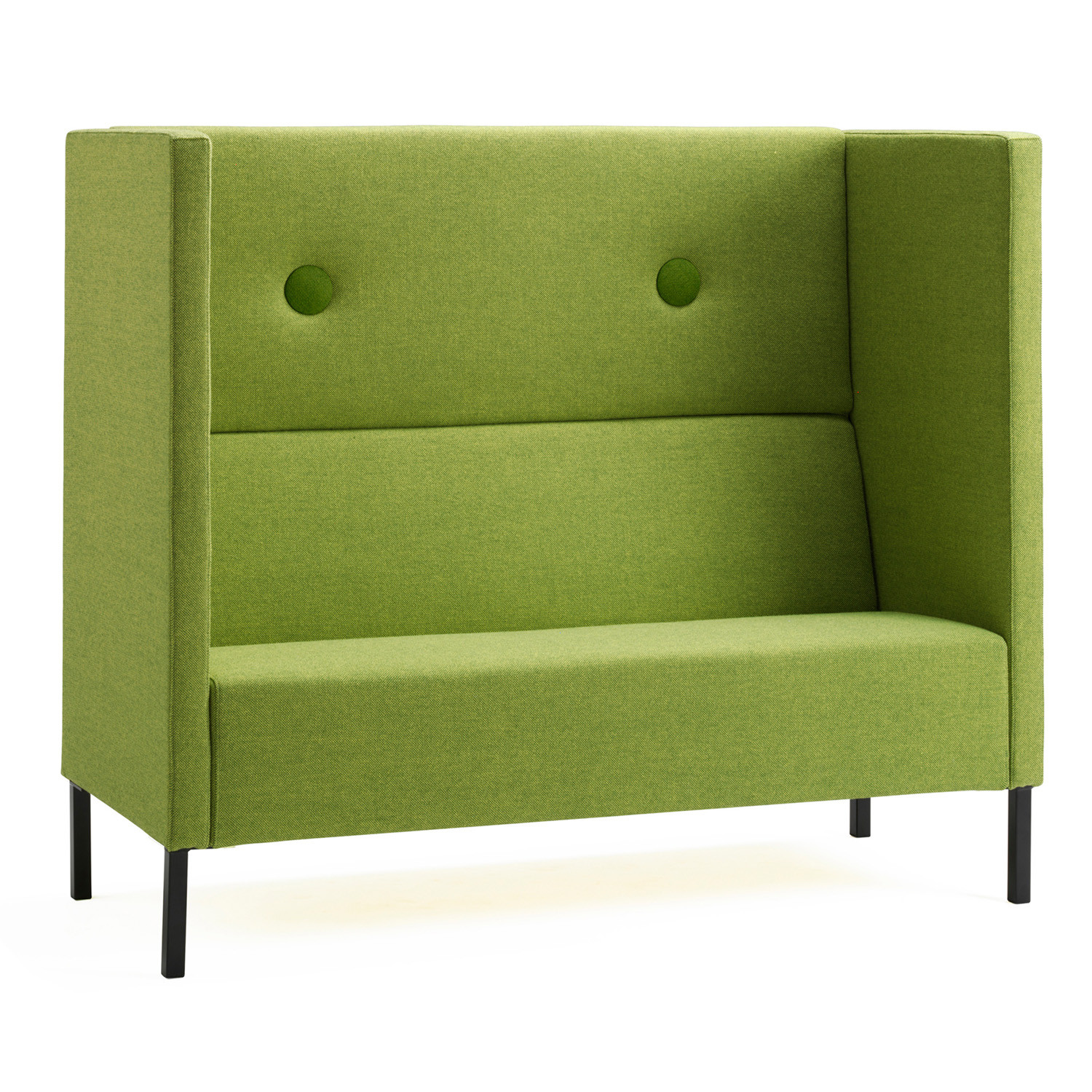 Mute High Back Privacy Sofa