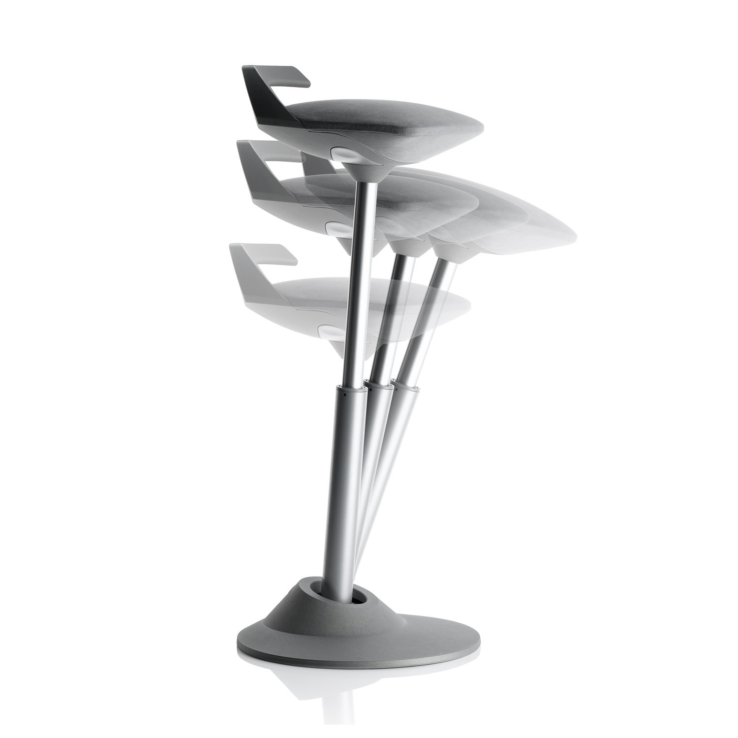 Muvman Stool's Vertical Movement