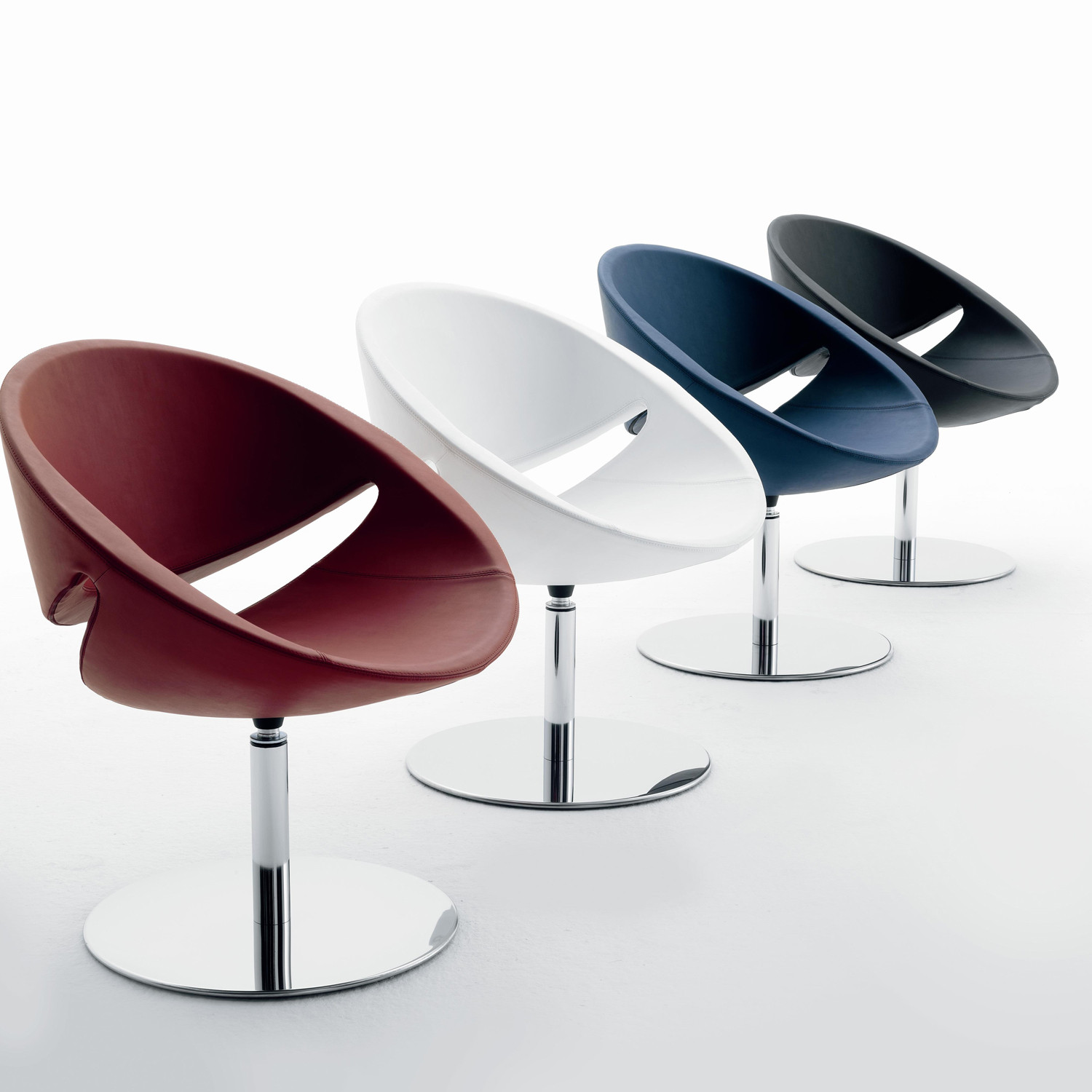 Mya Chairs are available in a wide range of colours