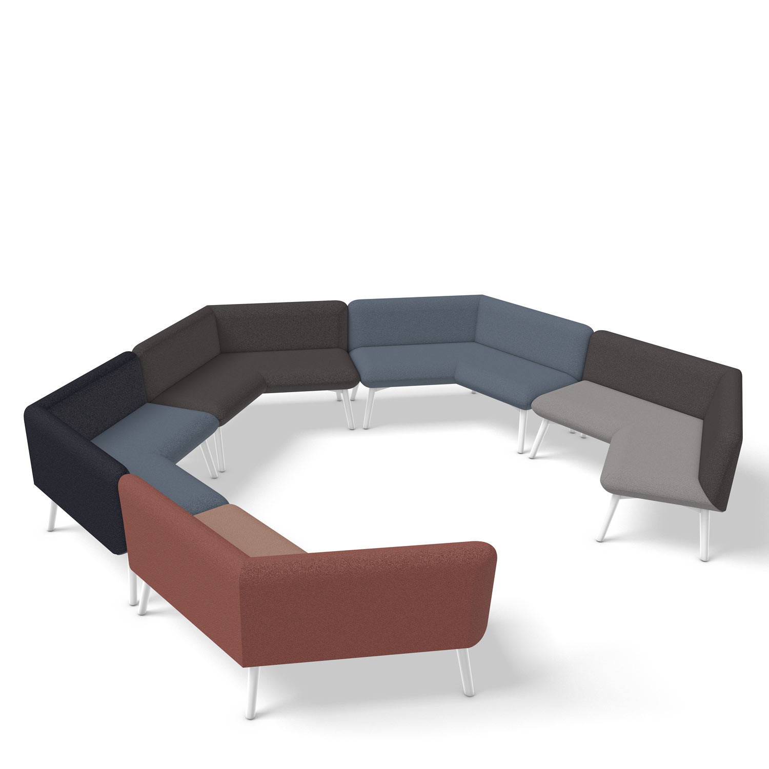 Myriad Hexagon Sofa Configuration