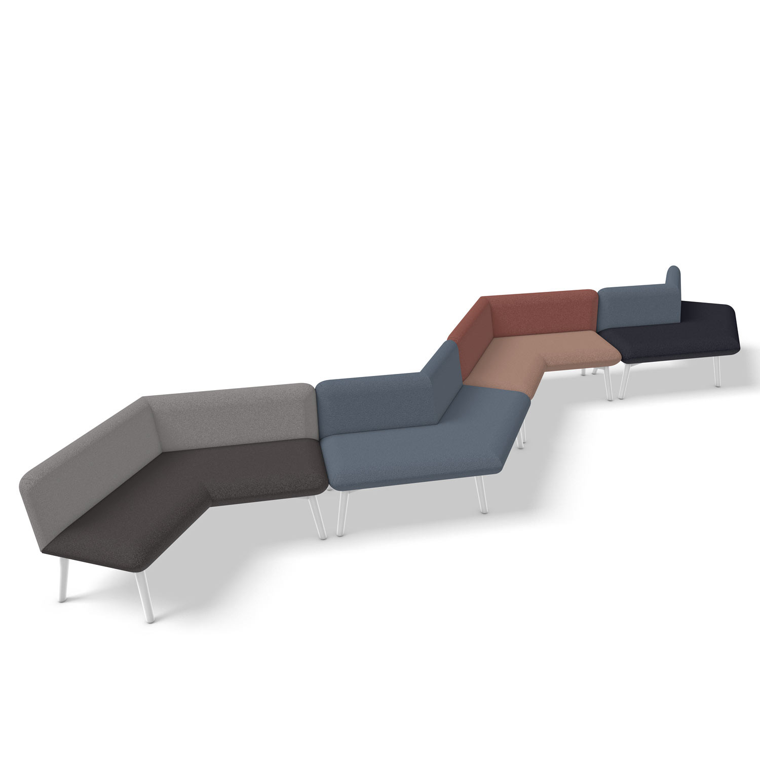 Myriad ZigZag Seating