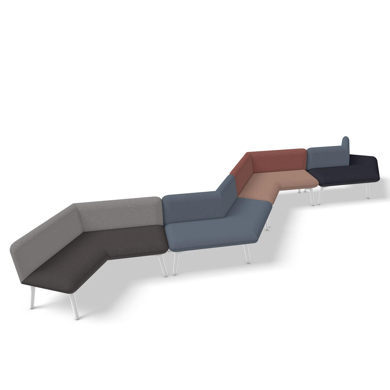 Myriad ZigZag Seating