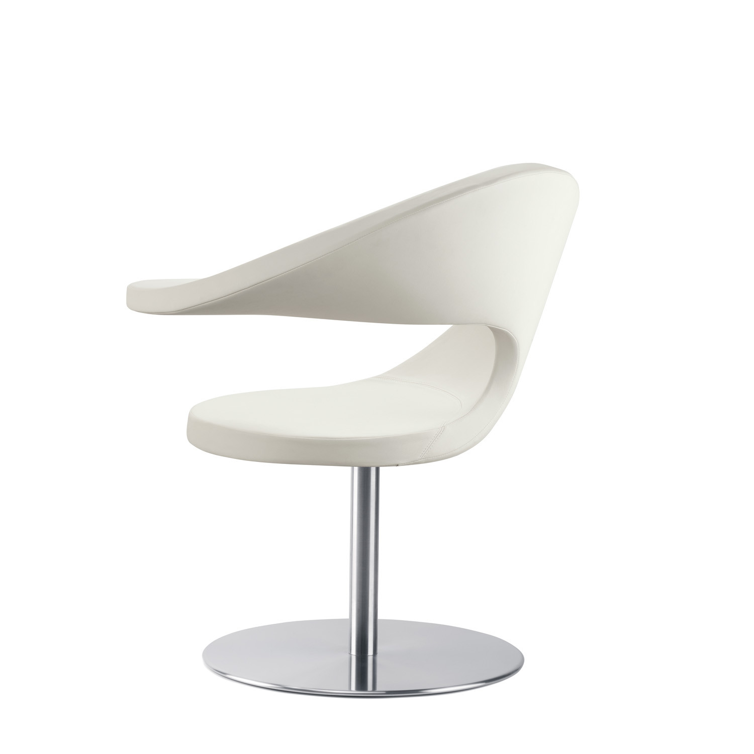 N@t Lounge Chair on round plate base
