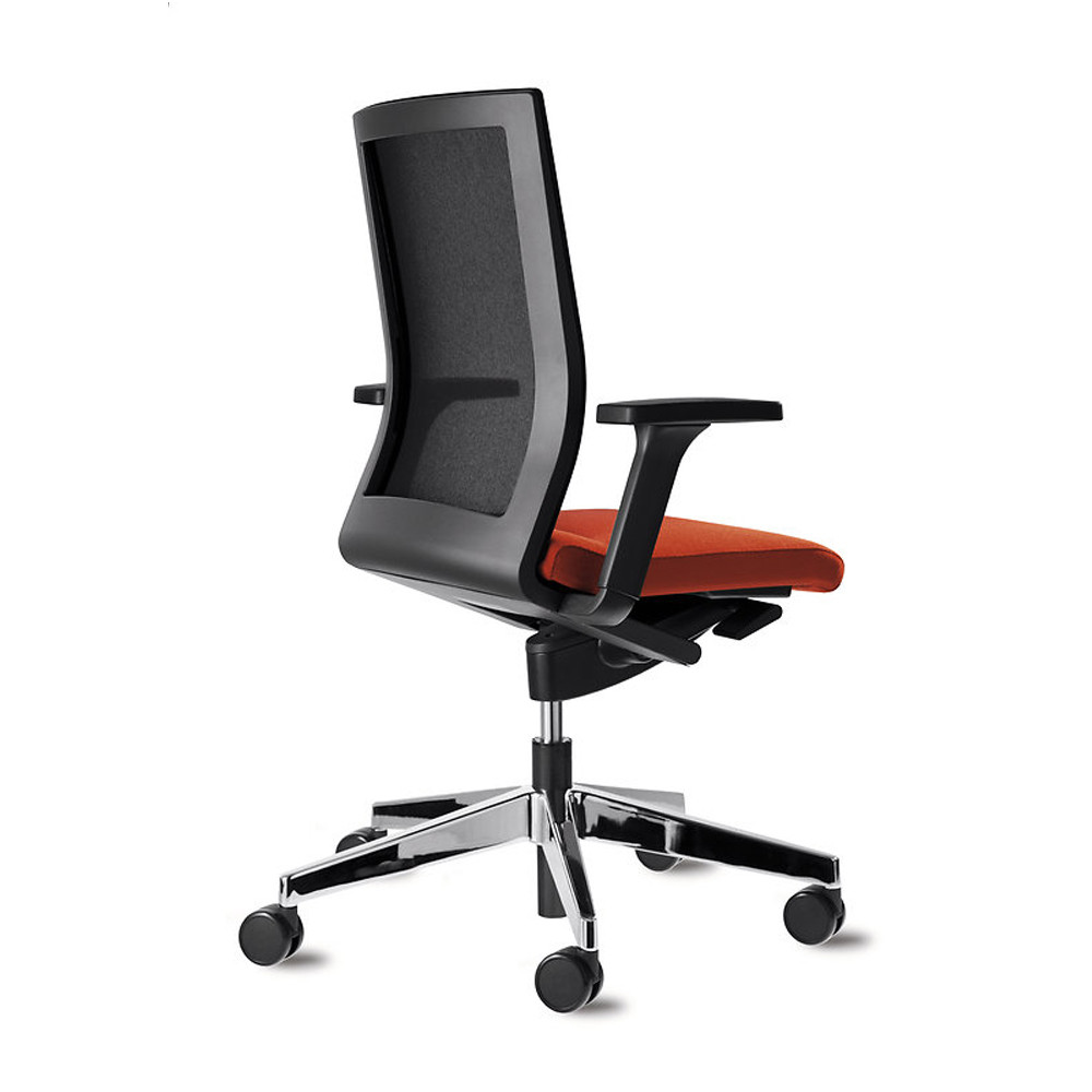 Neos Swivel Chair with 3D Armrests