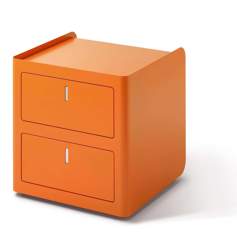 CBox Desk Pedestal in orange