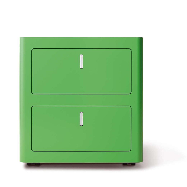 CBox Desk Pedestal in green