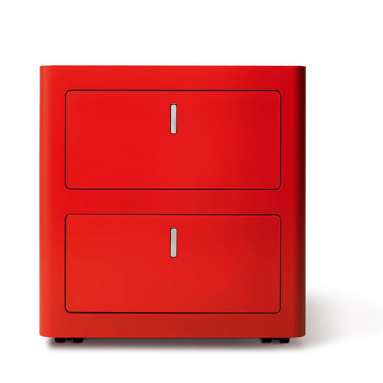 CBox Desk Pedestal in red