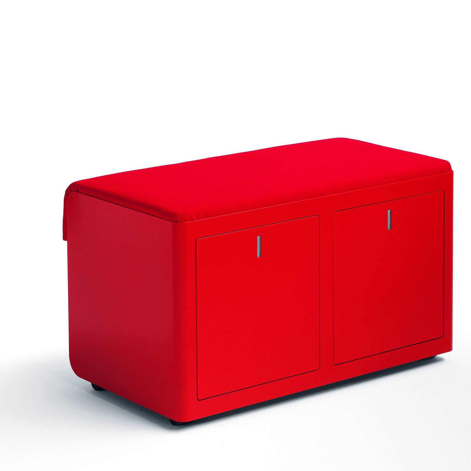 Cbox Double Pedestal With Seat Pad