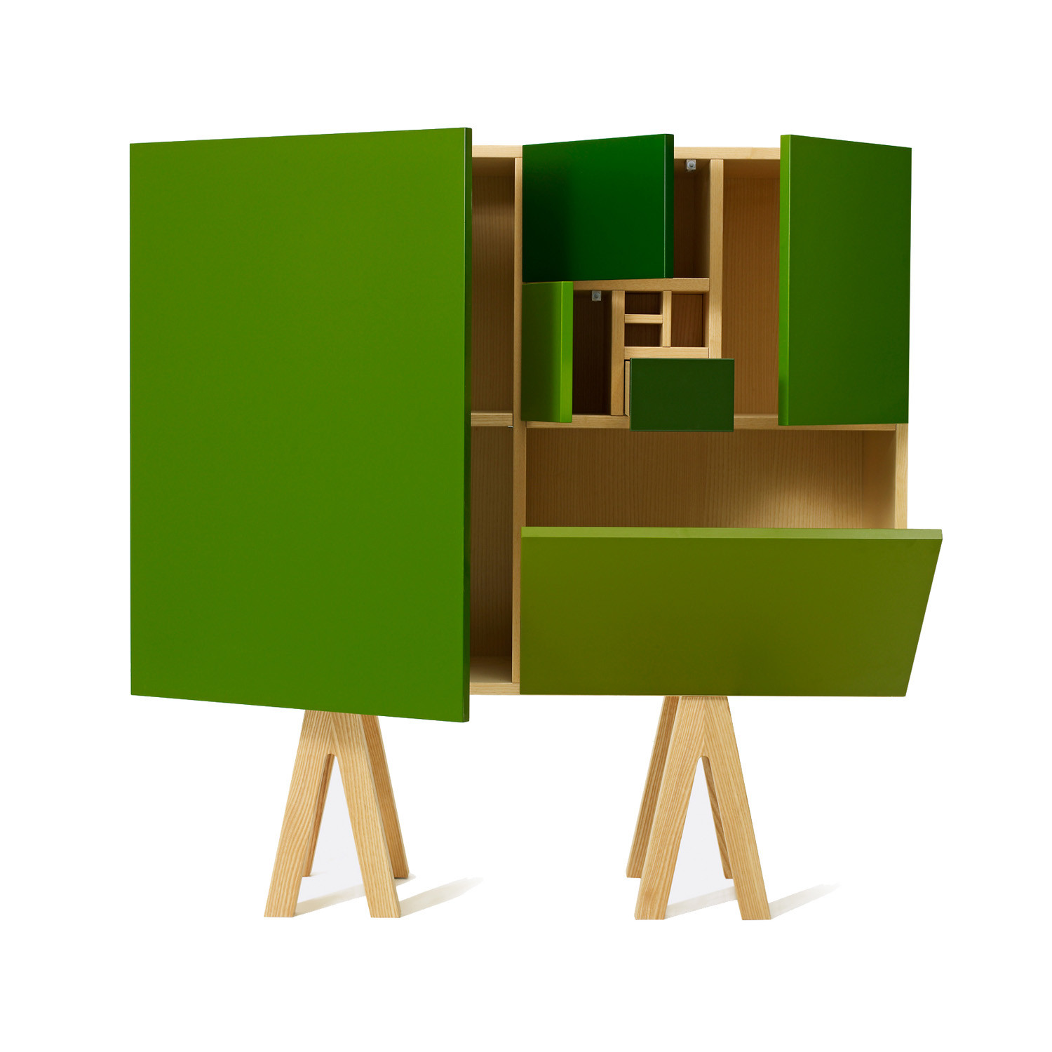 No. 216 Sideboard in Green