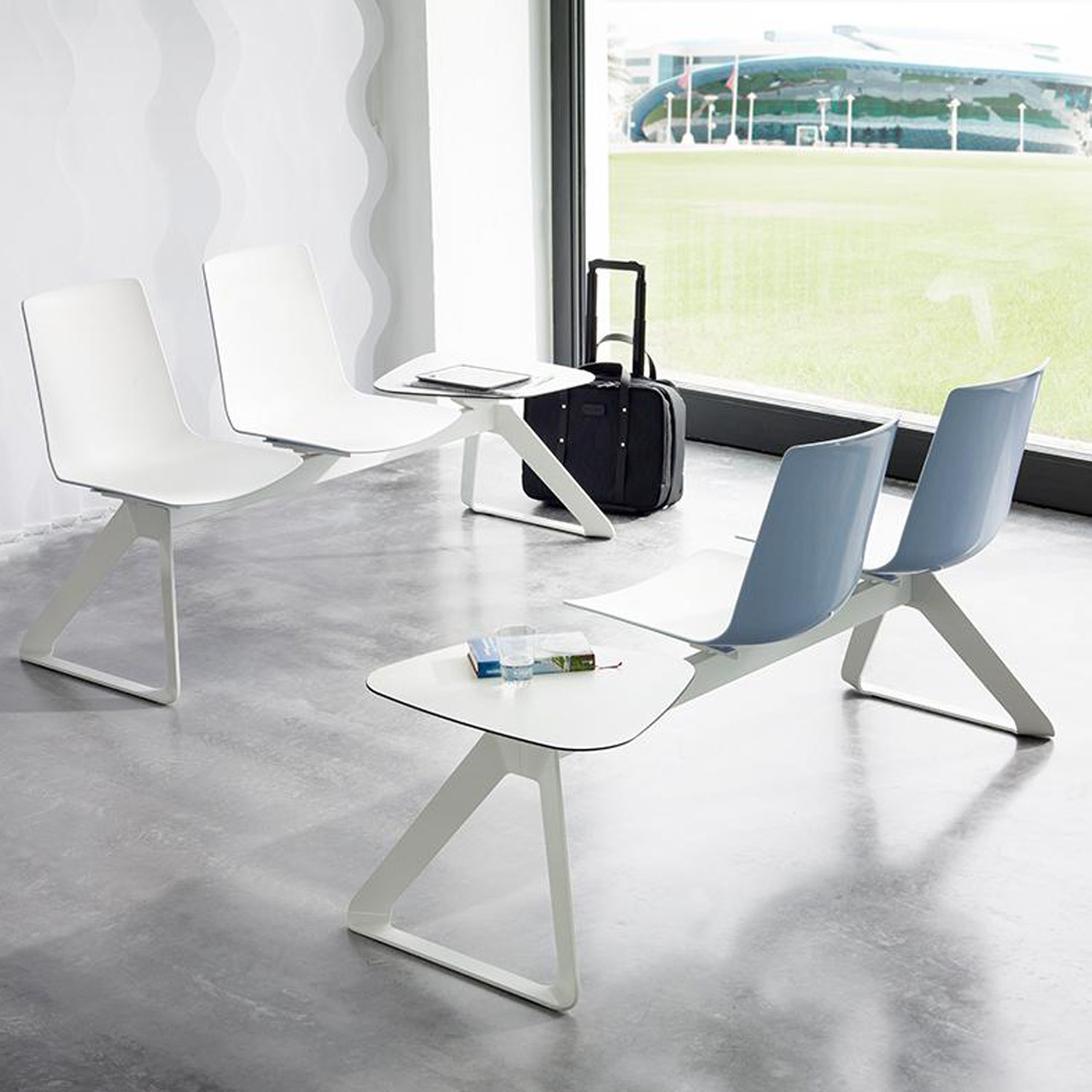 Nooi Beam Seating by Wiesner Hager