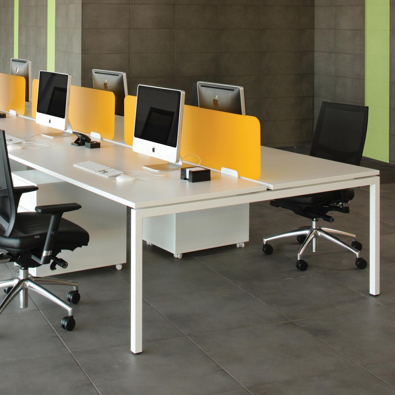 Home Office Furniture Systems: Modern Office Bench Desks