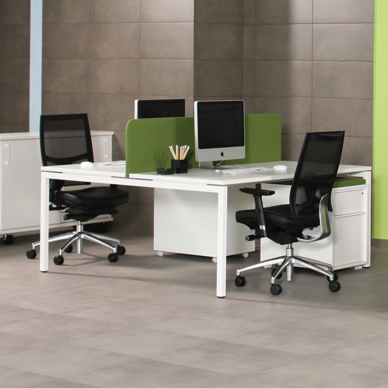 Office Furniture Bench: Modern Office Bench Desks