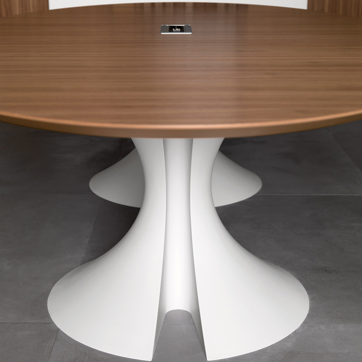 Ola Meeting Table is available in a wide range of finishes