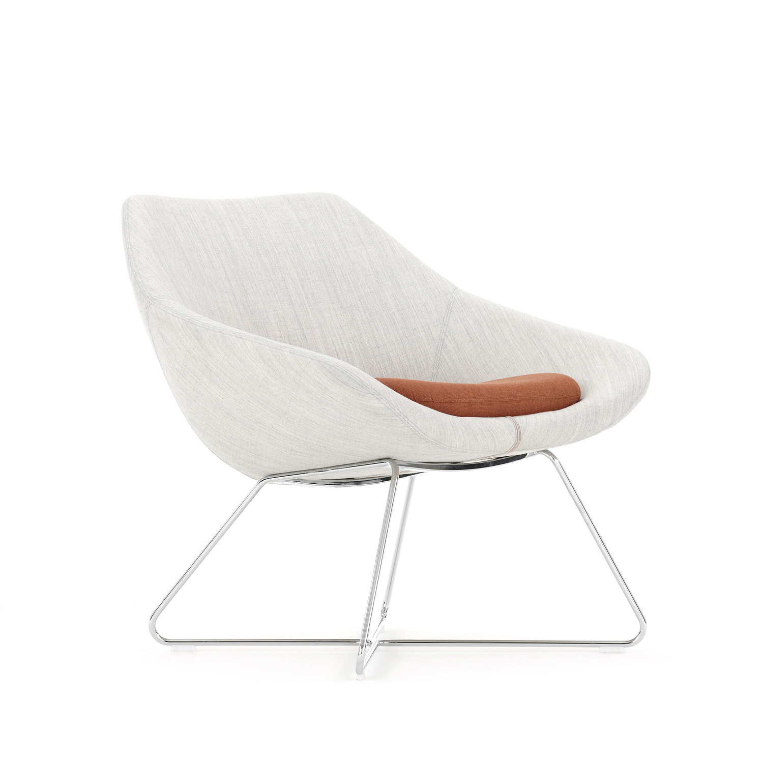Open Lounge Low Back Chair