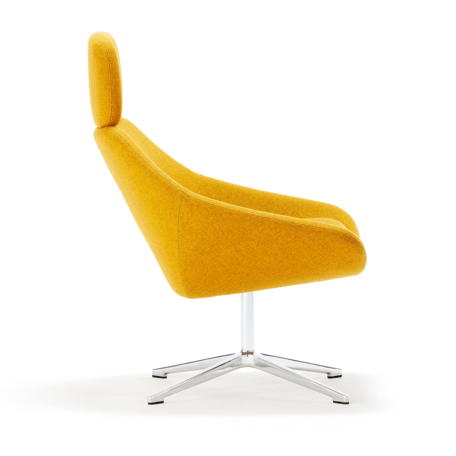 A641 Open Lounge Chair With Head Rest