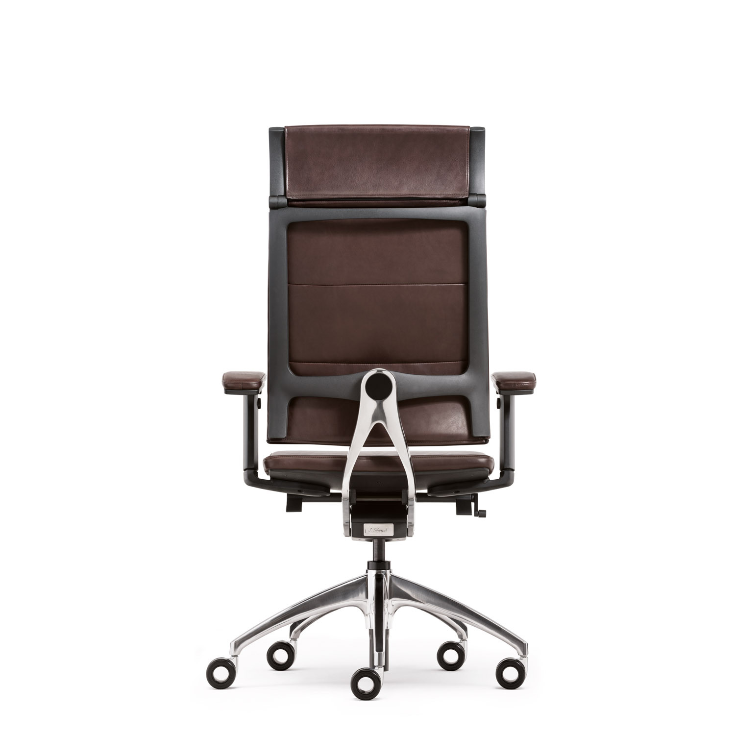 Open Up Modern Classic Brown Chair