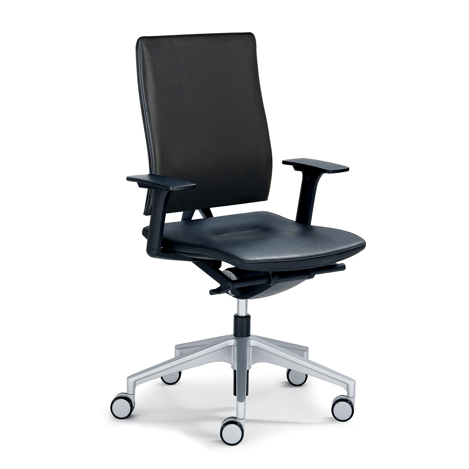 Open Mind Task Chair in Leather Upholstery