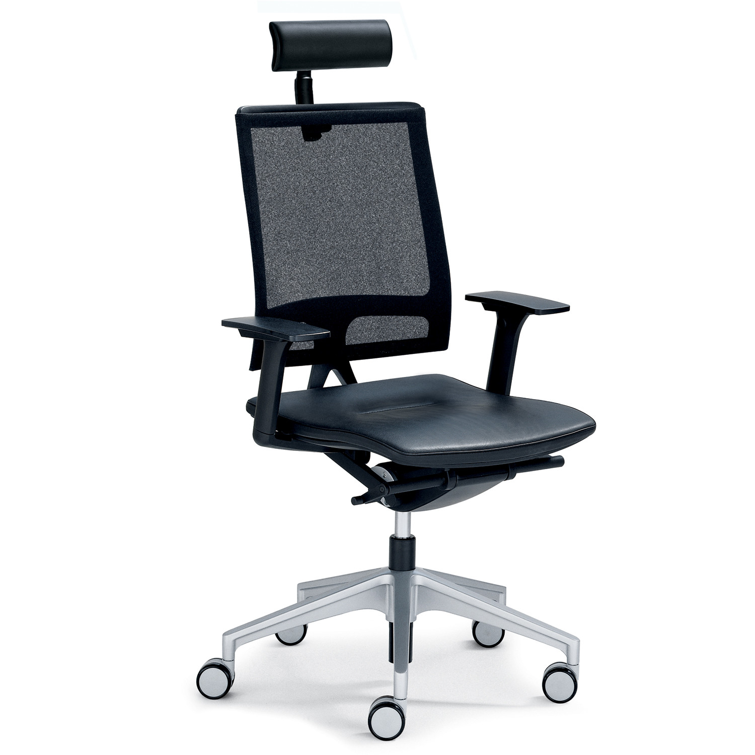 Open Mind Mesh Back Chair with headrest