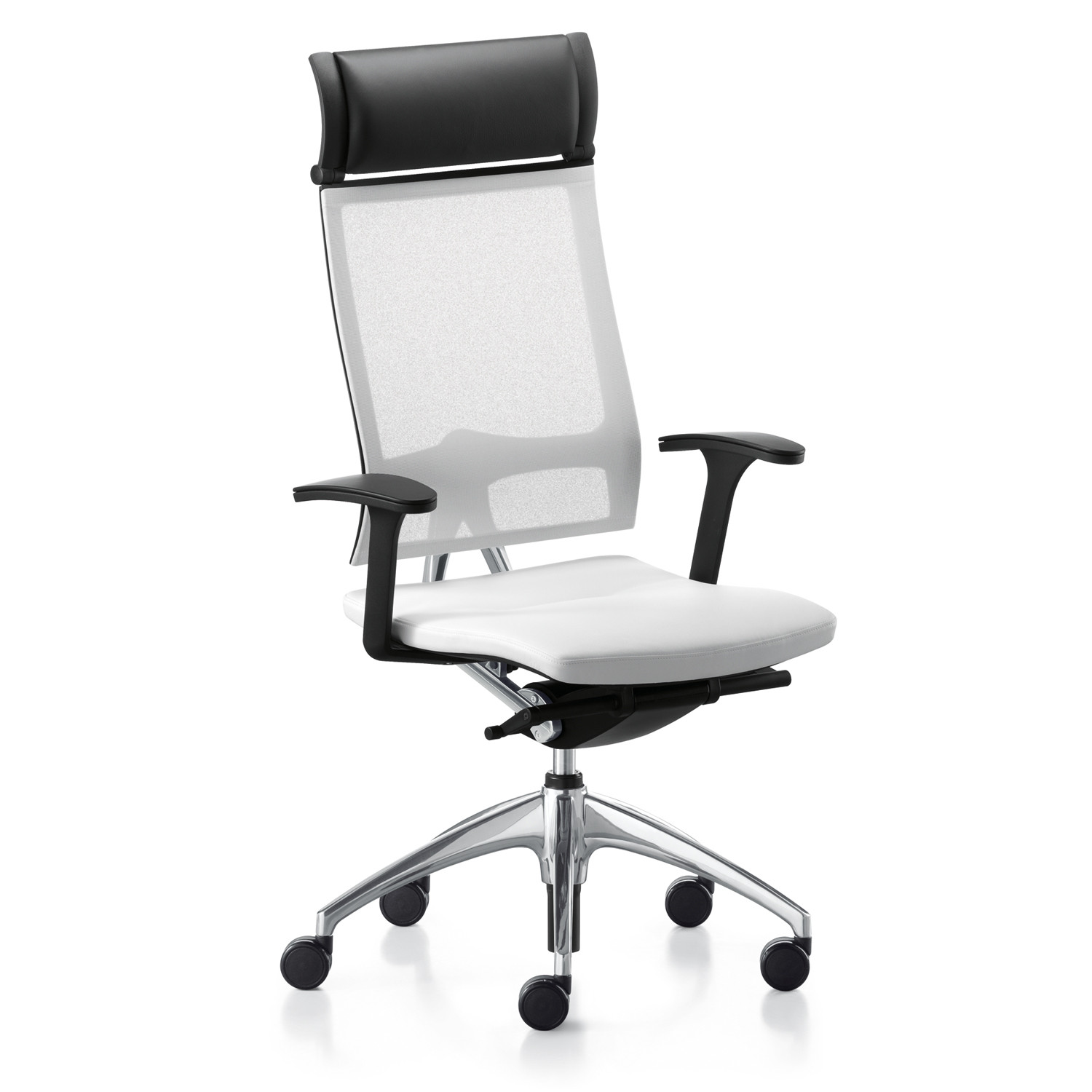 Open Up Mesh Back Chair with Headrest