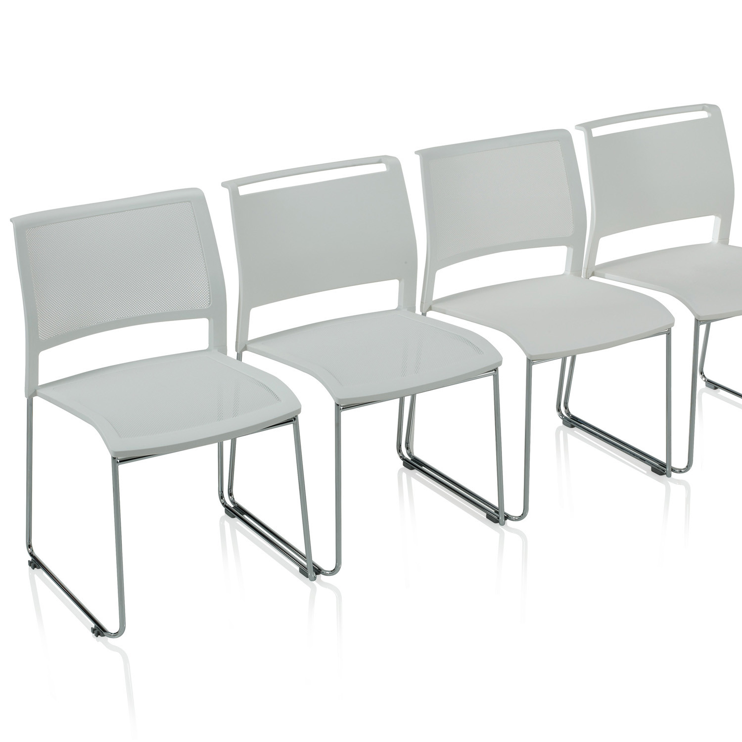 Opt4 Visitors Chairs by KI