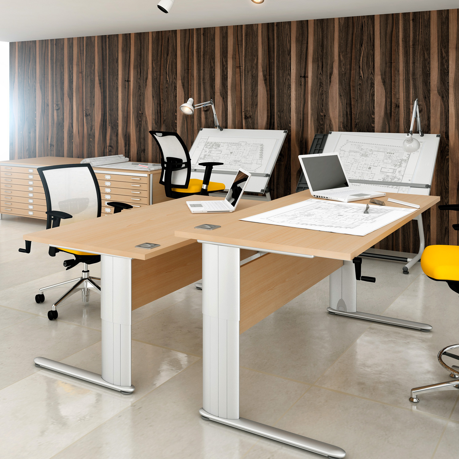 Optima Plus Height Adjustable Desks