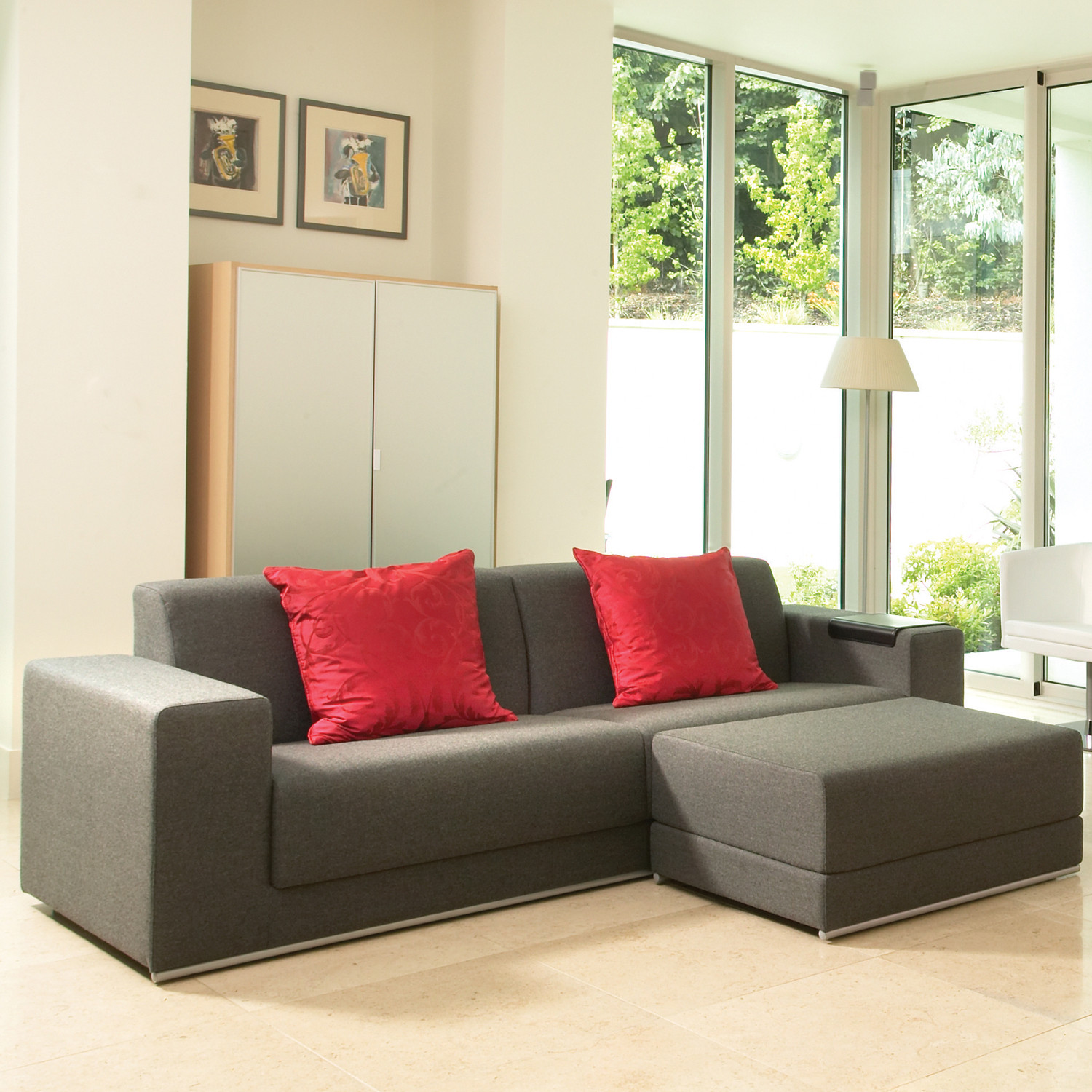 Ortega Sofa and Ottoman by Connection