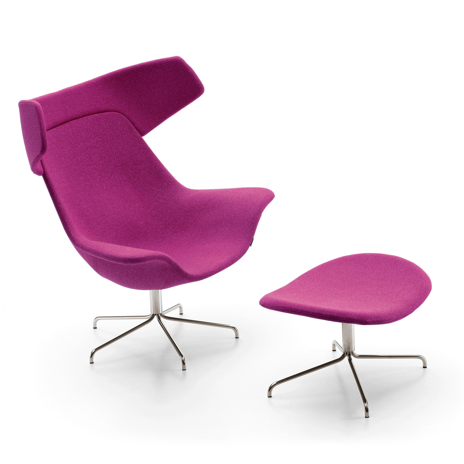 Oyster High Chair & Footstool