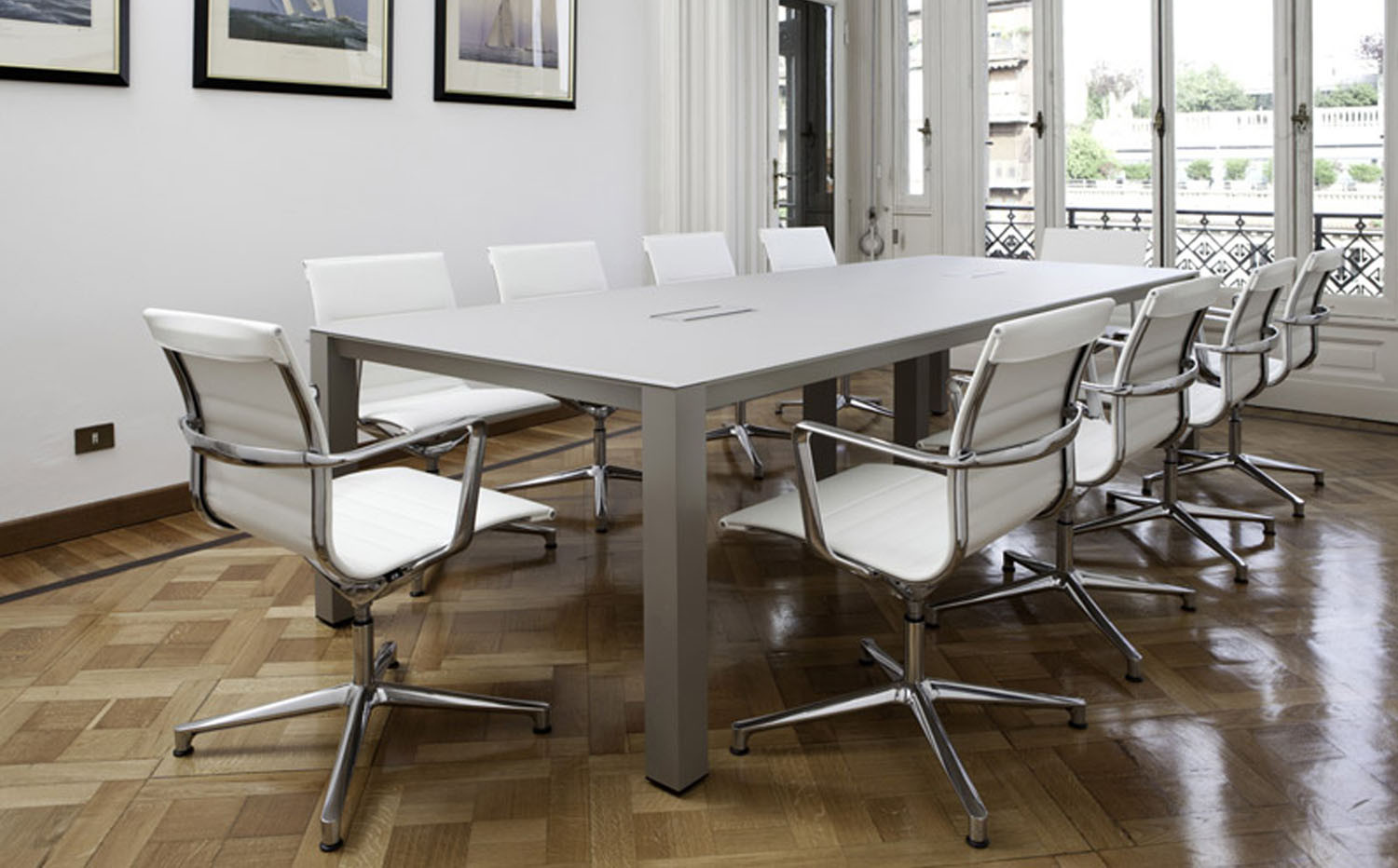P80 Executive Meeting Tables by ICF Spa