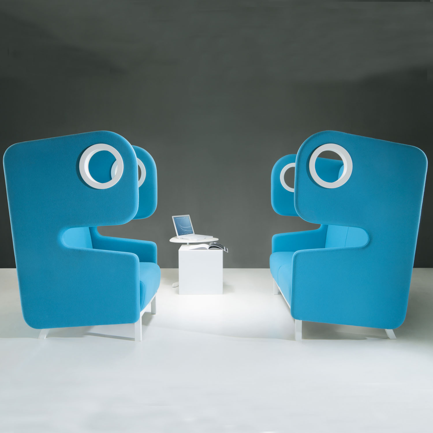 Packman High Back Sofa and Chair from Mikomax