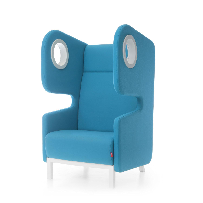 Packman High Back Armchair