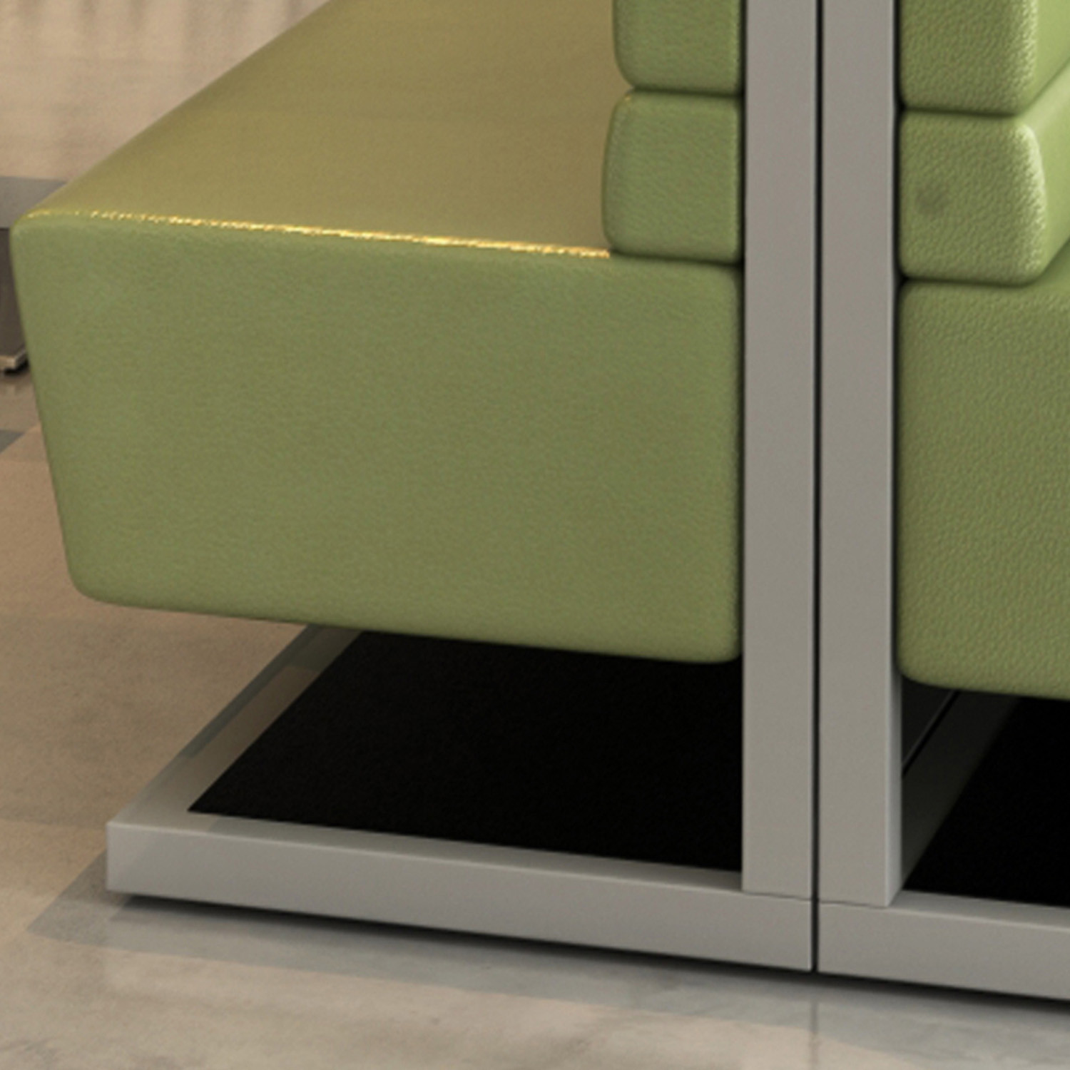 Palate Banquette Seating Detail