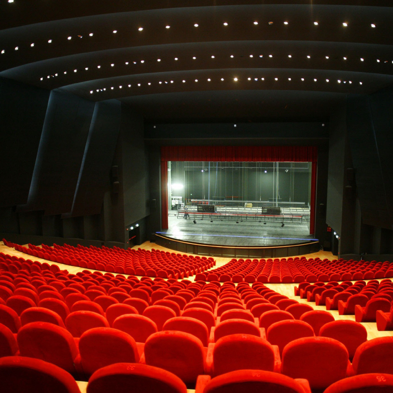 Palladium Auditorium Seating