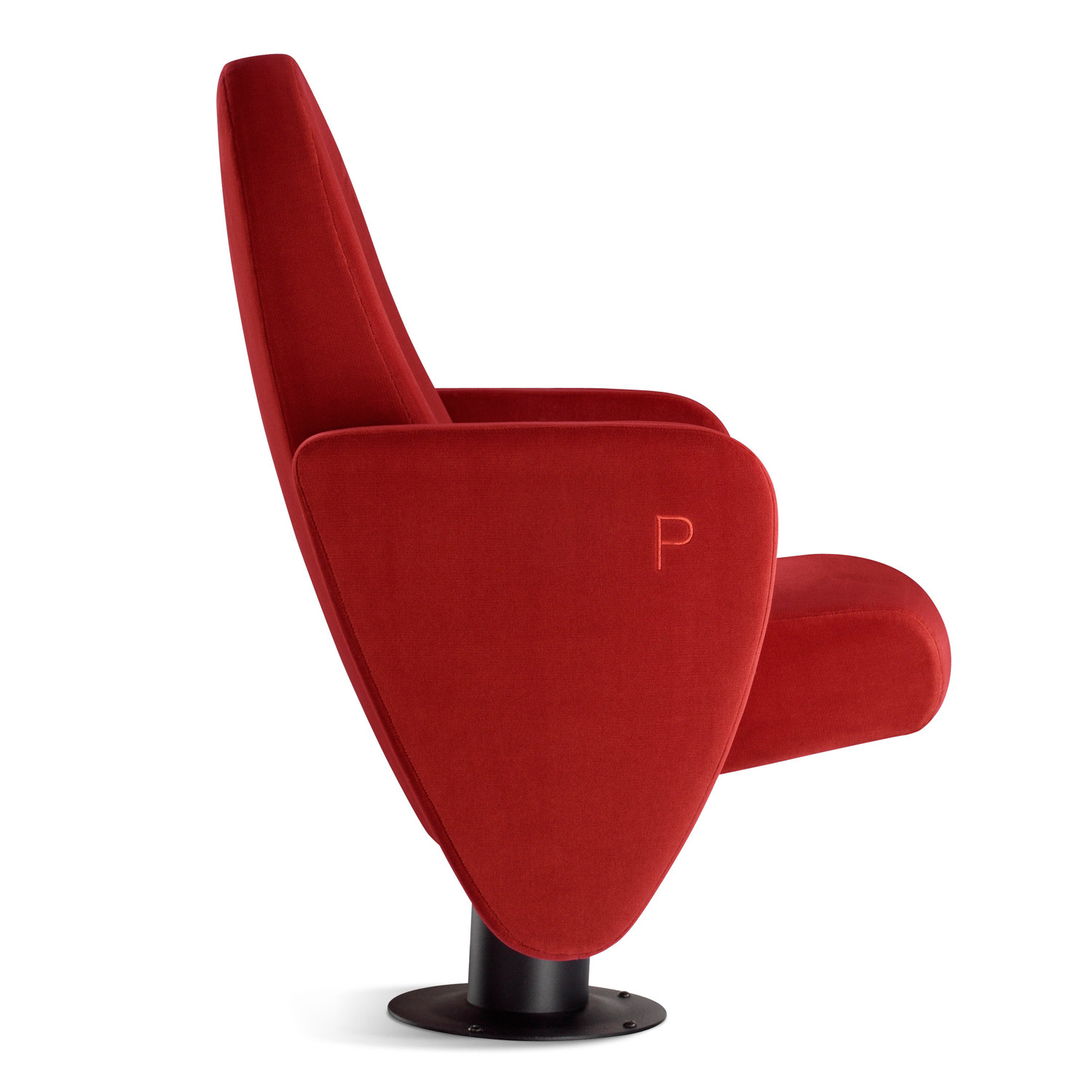 Palladium Upholstered Auditorium Chair profile