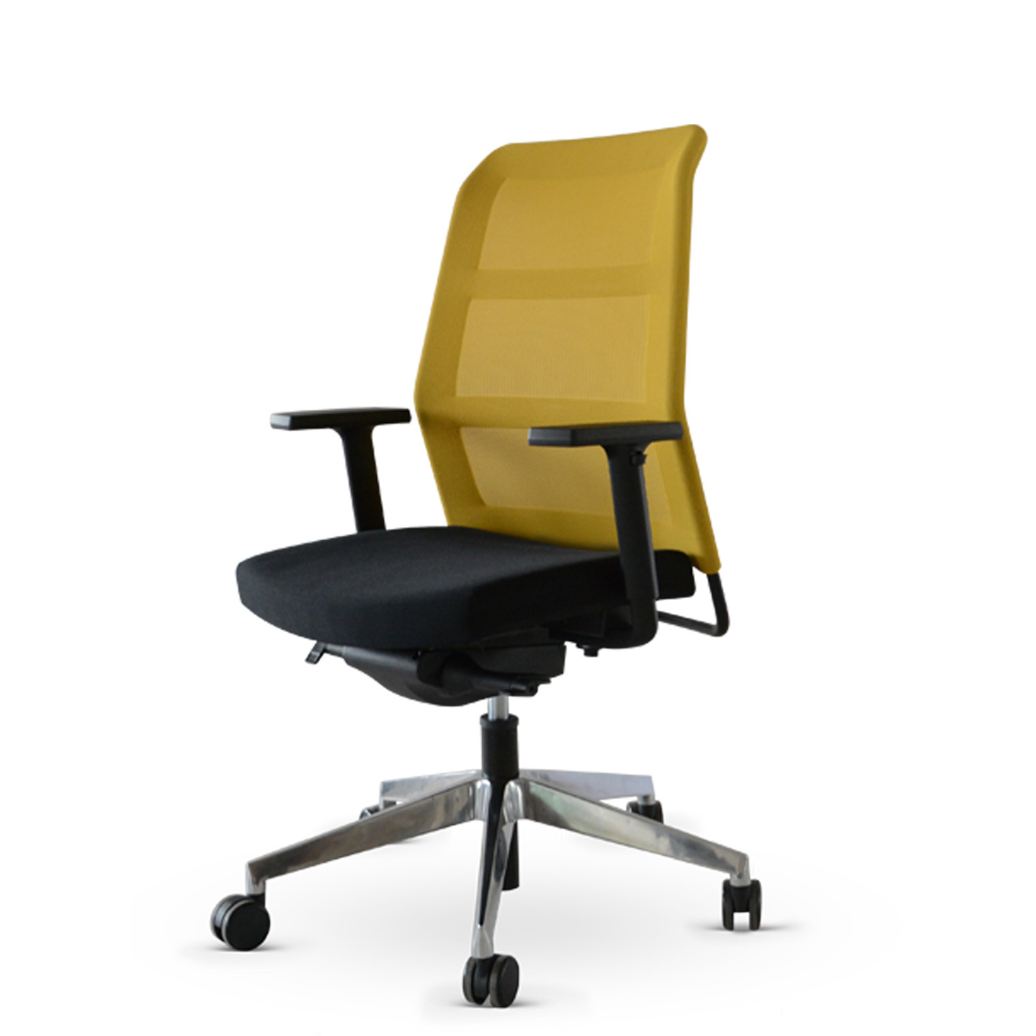 Paro_2 Task Chair with Yellow Mesh
