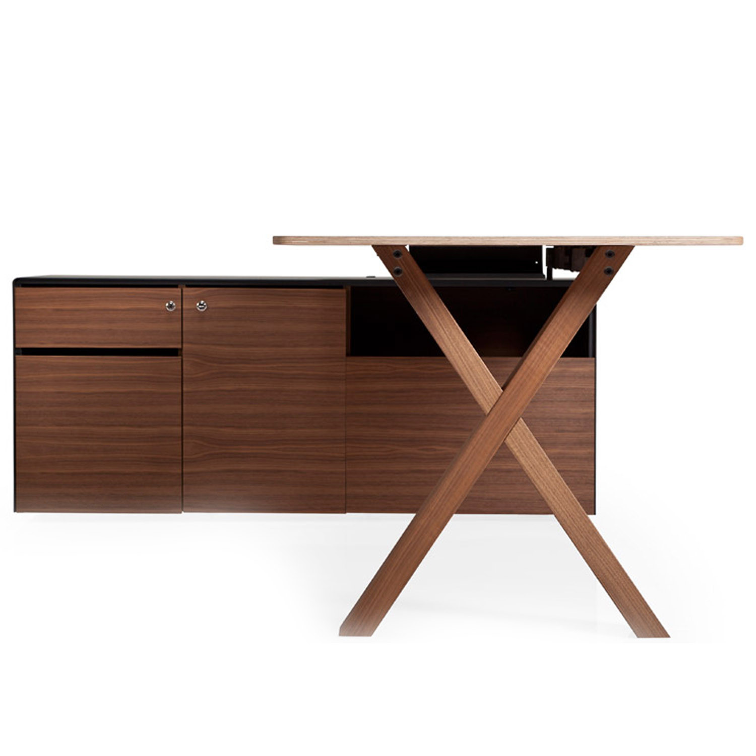 wooden office desks. Perfect Desks Partita Wooden Office Desk And Desks