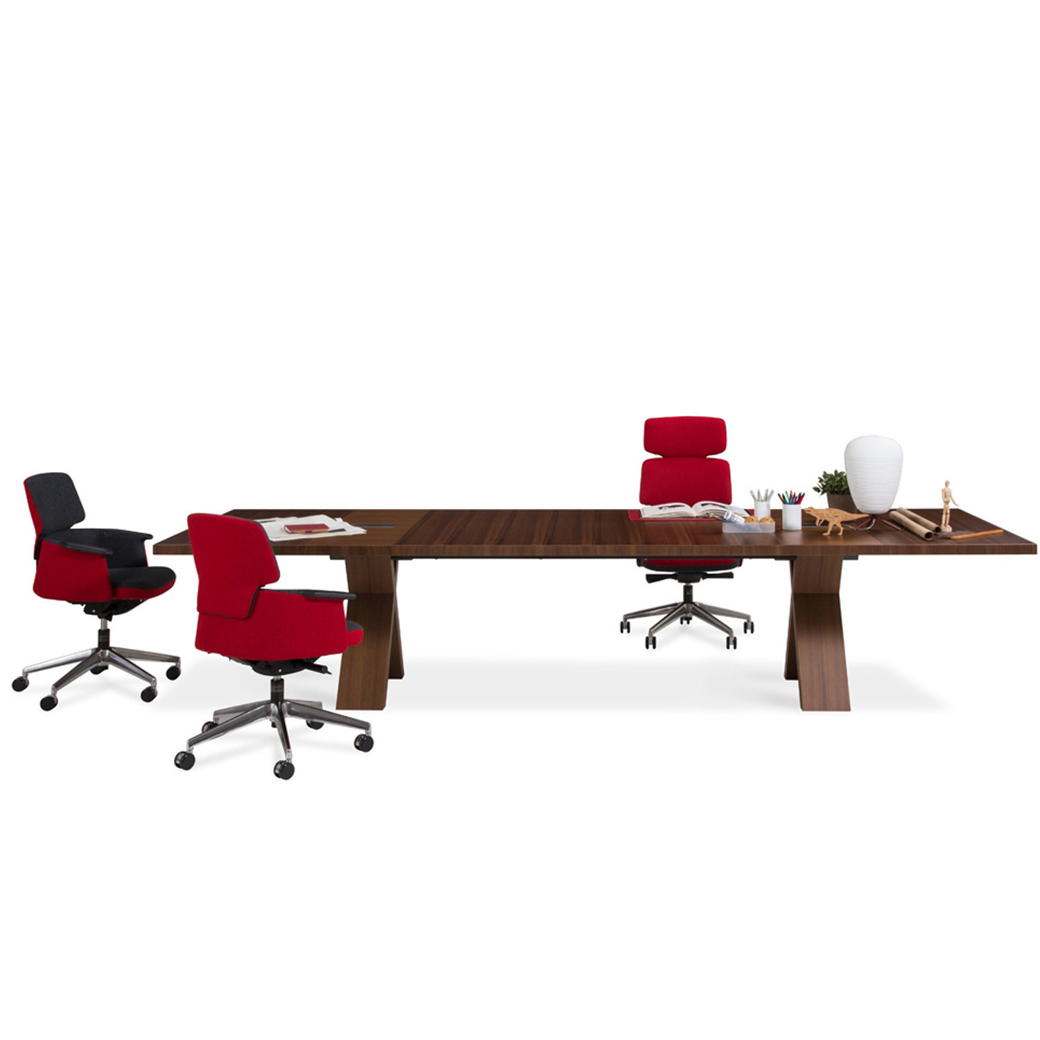 Partita Office Meeting Table by Faruk Malhan