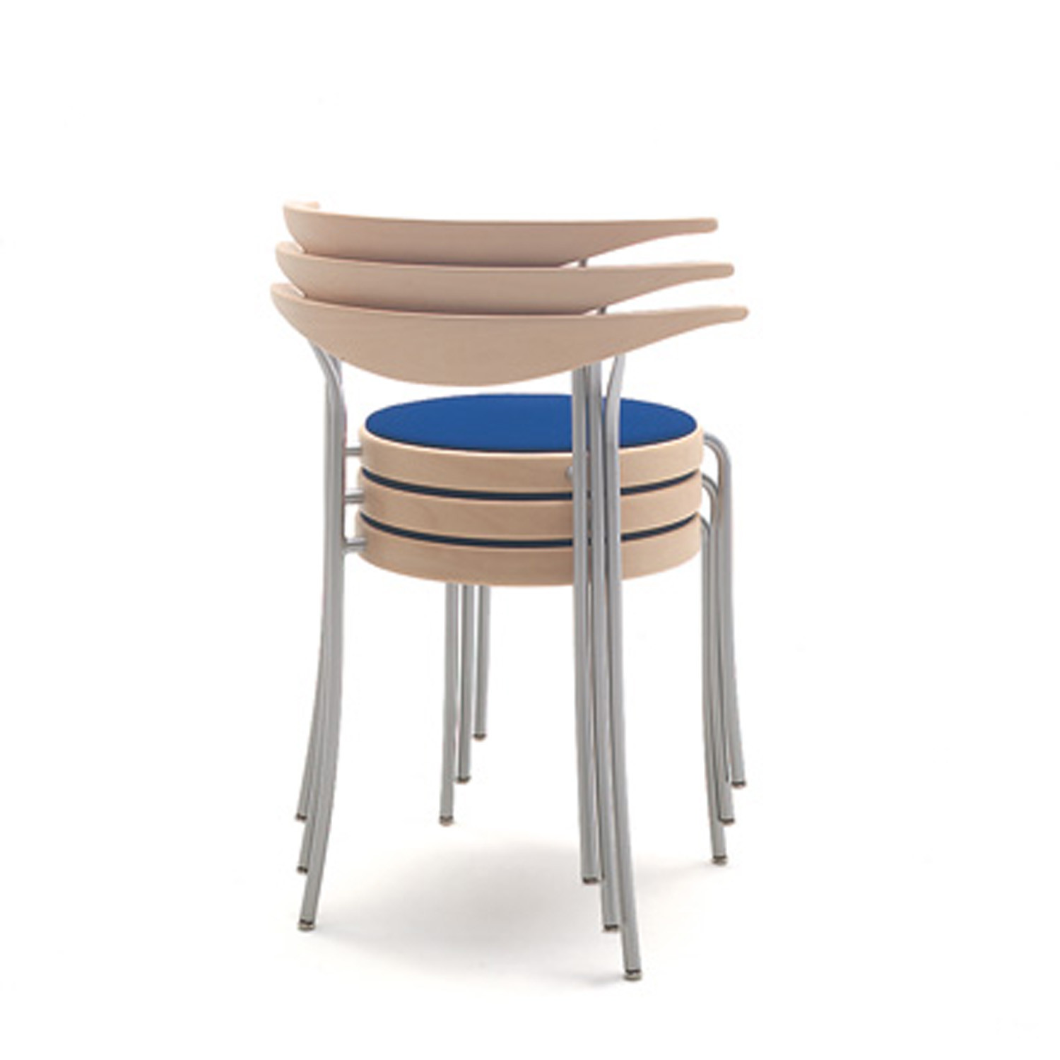 Partout Chairs Stackable
