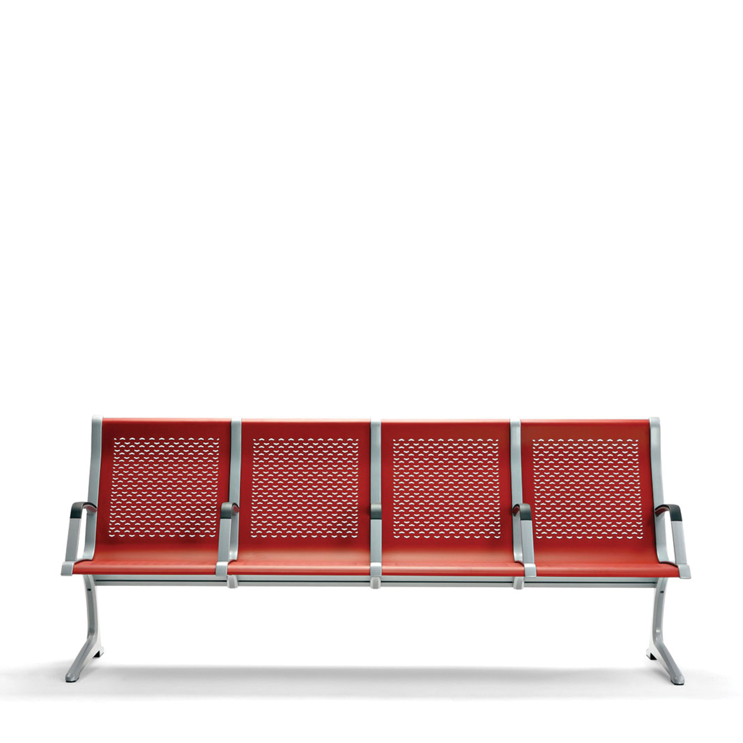 Passport Beam Seating With Perforated Steel Seats