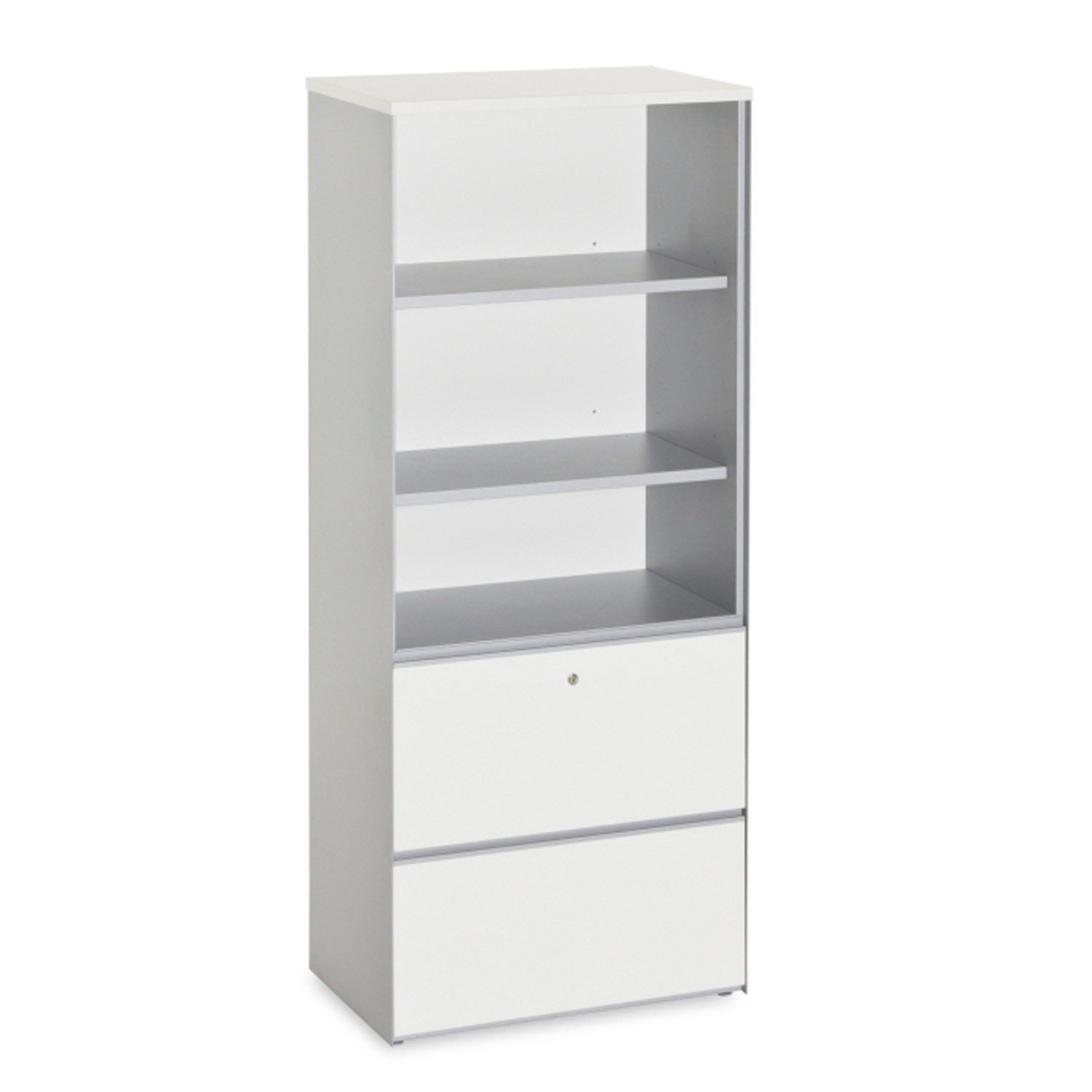 Path Storage Cabinet with Shelving