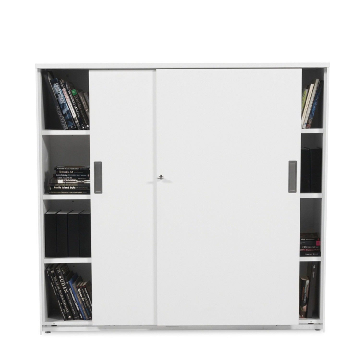 Path Filing Cabinets with Open Shelving