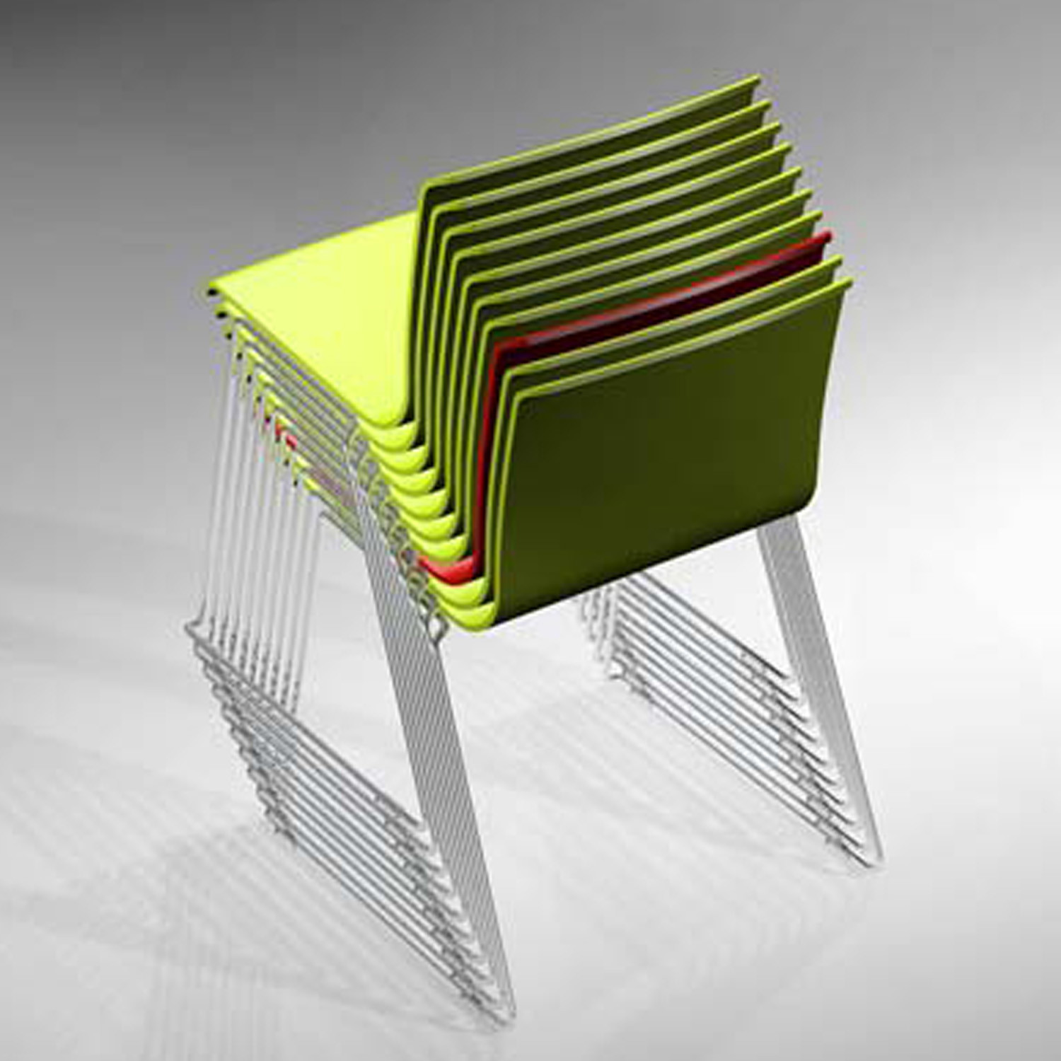 Pause Sled Chair by Magnus Olesen