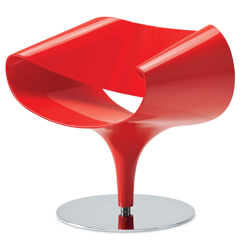 Perillo plastic lounge chair